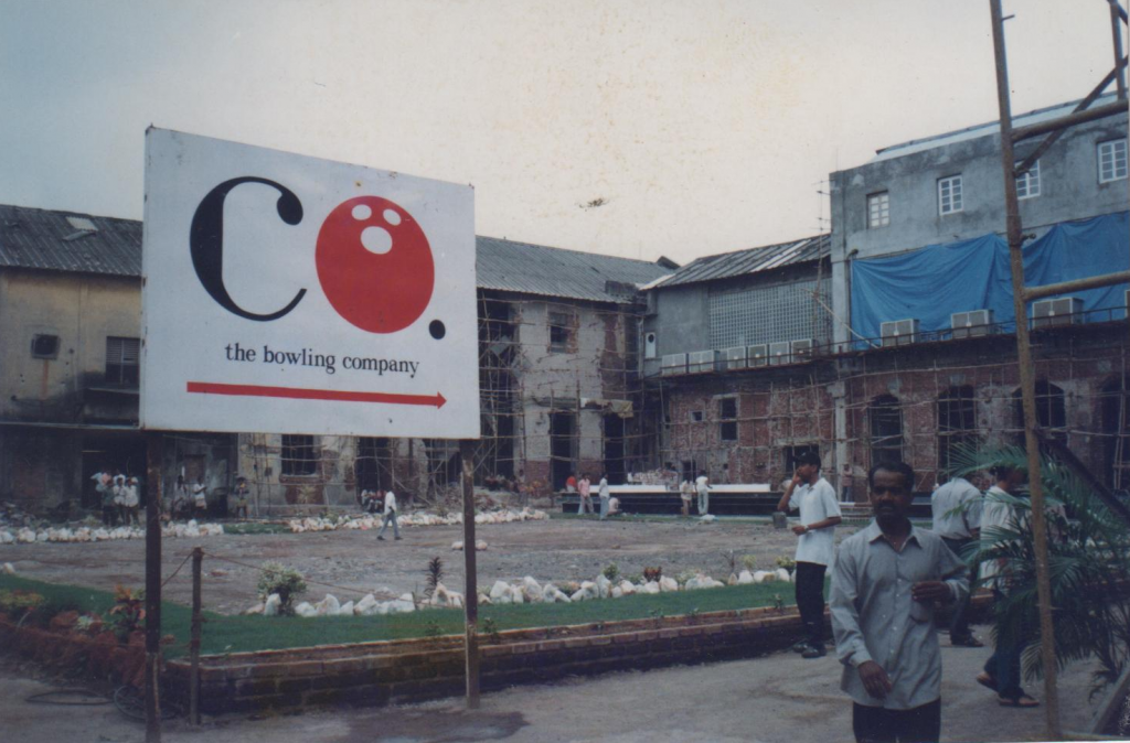 The Bowling Company, Phoenix Mills, Lower Parel, Mumbai, 1999