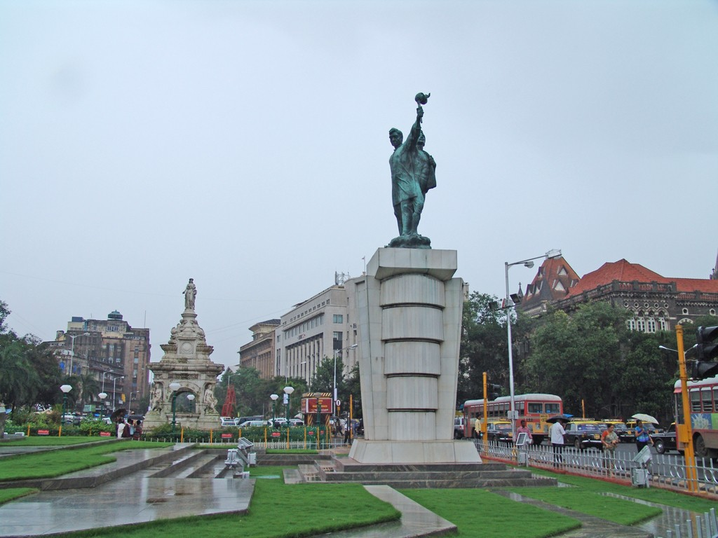Hutatma Chowk Martyrs' Memorial and Flora Fountain