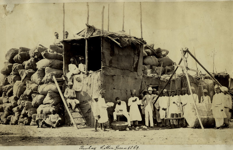 Bombay Cotton Green, 1869