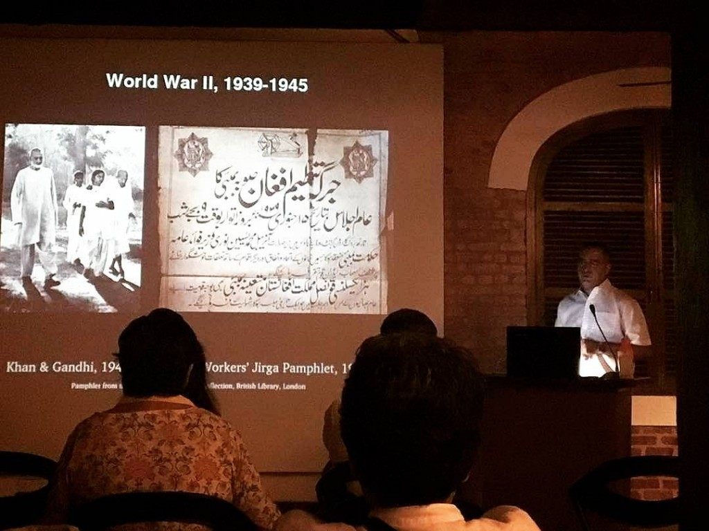 From Pathan Menace to Frontier Gandhi, Keynote Lecture at Mounstuart Elphinstone between Local & Global, 20 April 2017